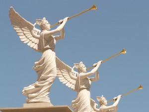http://pixabay.com/en/angel-wing-blowers-golden-trumpet-4928/
