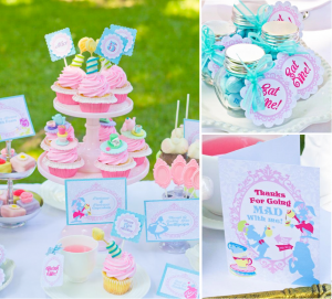 Whimsical-Alice-in-Wonderland-Mad-Hatter-tea-party-via-Karas-Party-Ideas-karaspartyideas.com-mad-hatter-alice-wonderland-tea-party-idea